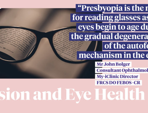 The Guardian Article: Wave goodbye to reading glasses